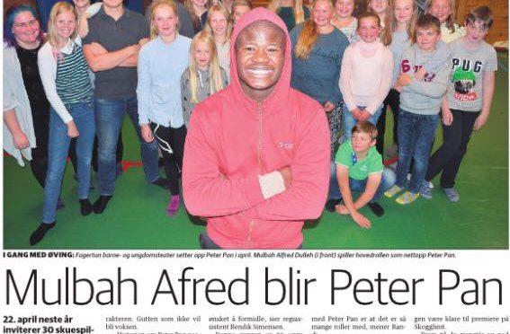 FABU setter opp Peter Pan i 2017